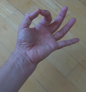 Gyaana Mudra for concentration