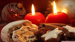 Christmas sweets w candles