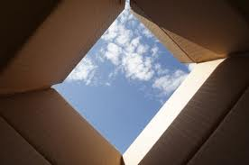 blue sky out of the box