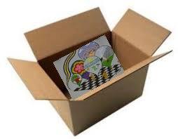 lured into box