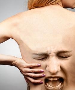 screaming back pain