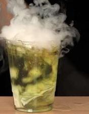 bubbling acid potion