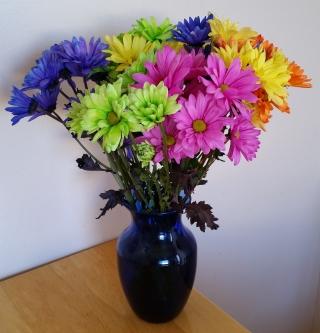 bouquet daisy mums