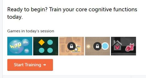 my lumosity dashboard pic