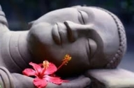 sleeping budda