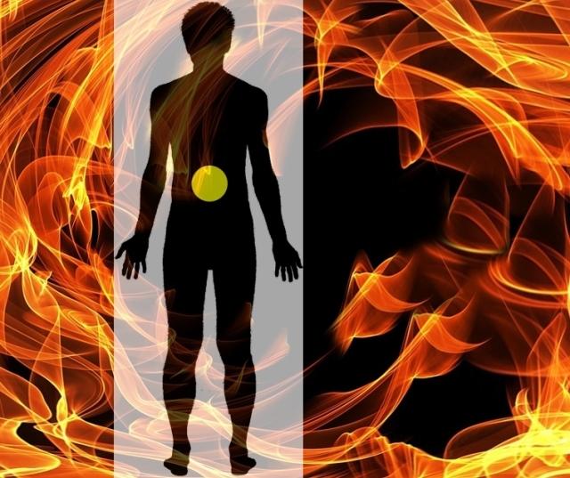 3rd chakra electric flames pixabay
