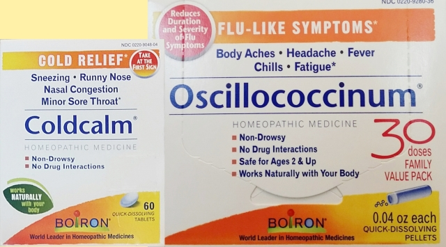 homeopathic coldcalm oscillo