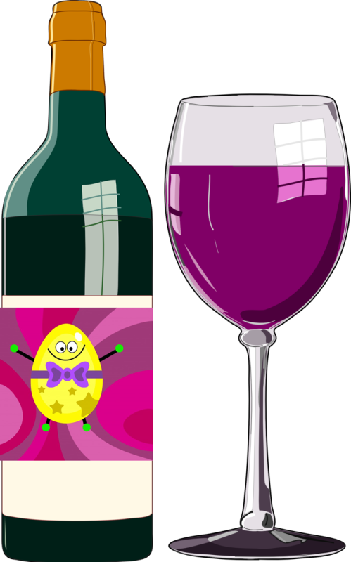 wine w bottle n egg pub domain
