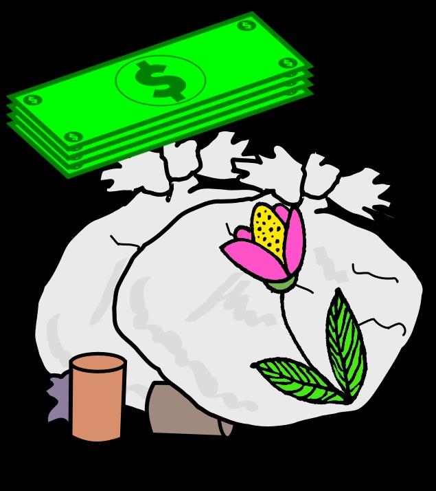 bagsofgarbage FreeSVG flower Needpix