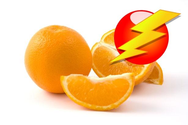 oranges public domain w lightning pixabay