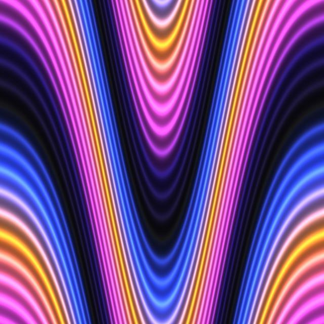 waveform colorful Pixabay
