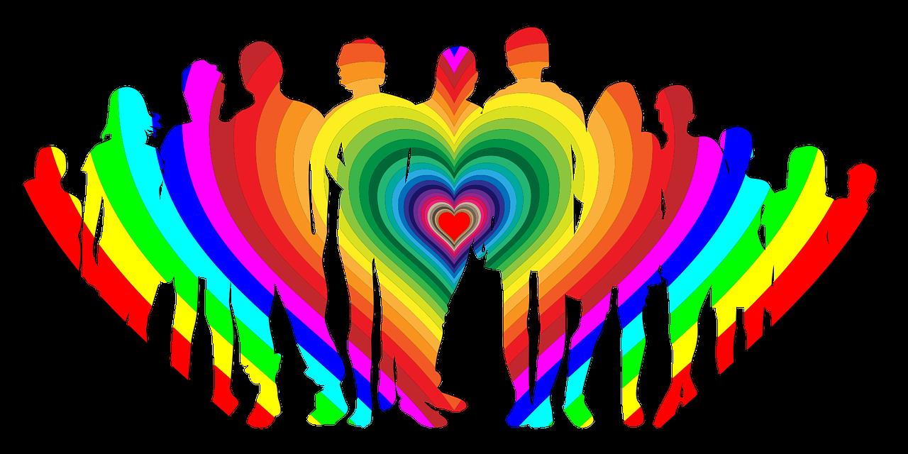 family humans heart rainbow Pixabay Gordon Johnson