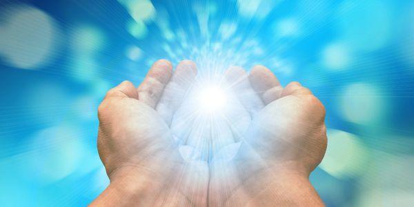 Joystream hands healing light