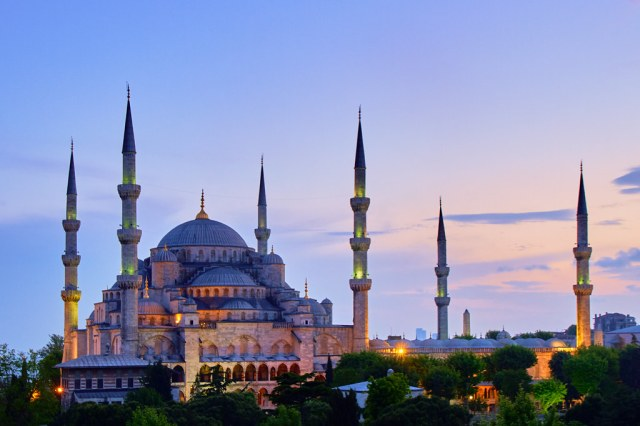 Blue Mosque by Pedro Szekely on Flickr